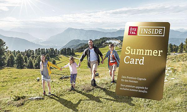 Sommer: inklusive Ötztal Inside Summer Card